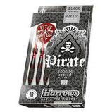 Harrows Pirate Black/Reds Softtip